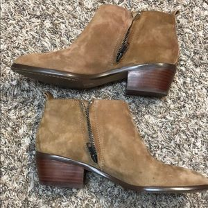 JCrew sawyer suede ankle boots